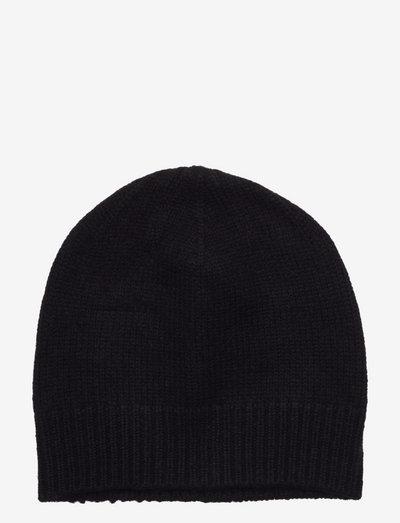 Cap - huer - black