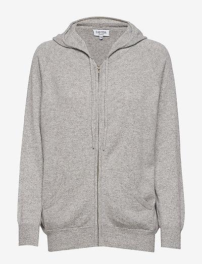 Hoodie - sweatshirts & hoodies - light grey