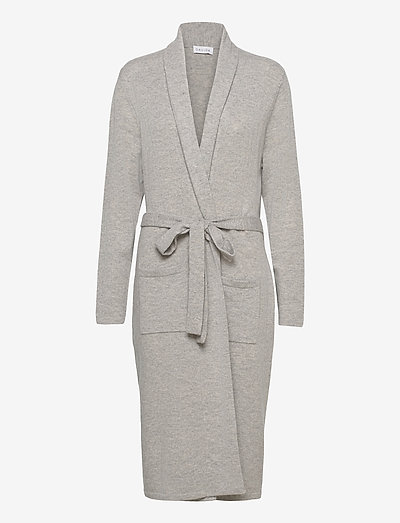 Robe - cardigans - light grey