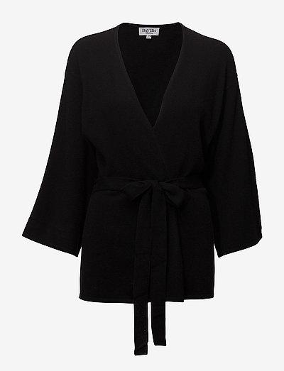 Kimono - cardigans - black