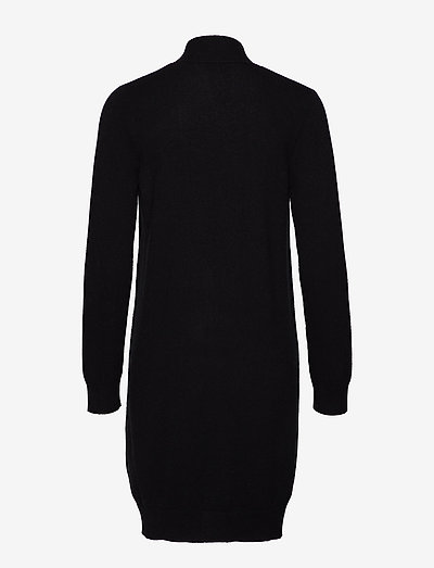 Pocket Long Cardigan - cardigans - black