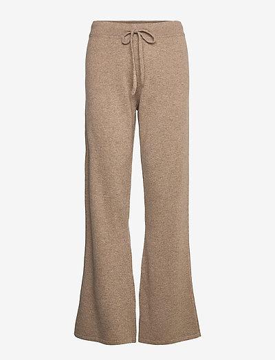 Pants - bukser med brede ben - mink