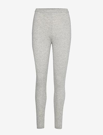 Panel Leggings - leggings - light grey