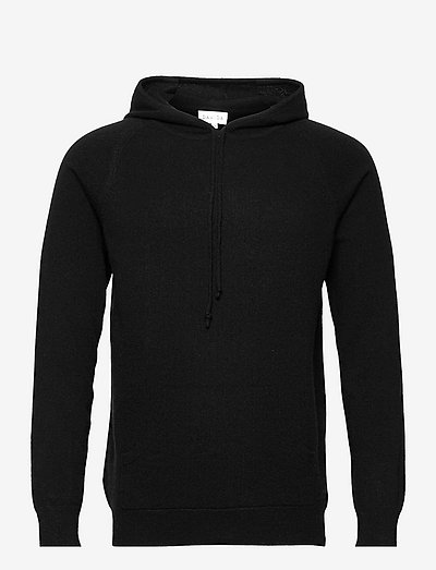 Man Front Pocket Hoodie - kapuzenpullover - black