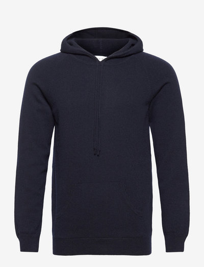 Man Front Pocket Hoodie - kapuzenpullover - navy