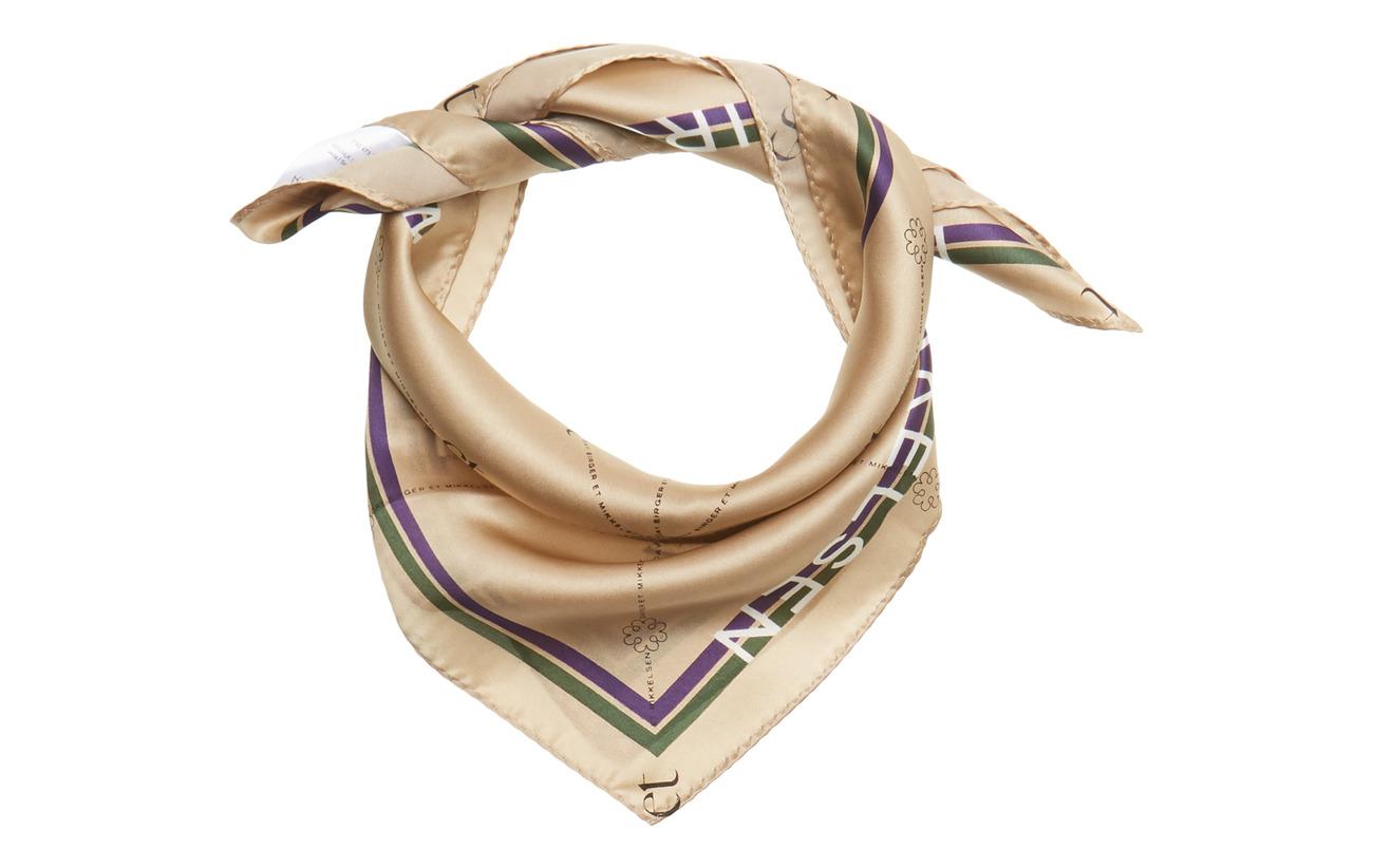 DAY et Day Silk Logo ET scarf mini - TRAVERTINE