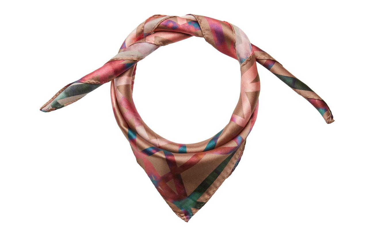 DAY et Day Silk Geometric Scarf Mini - CHAI