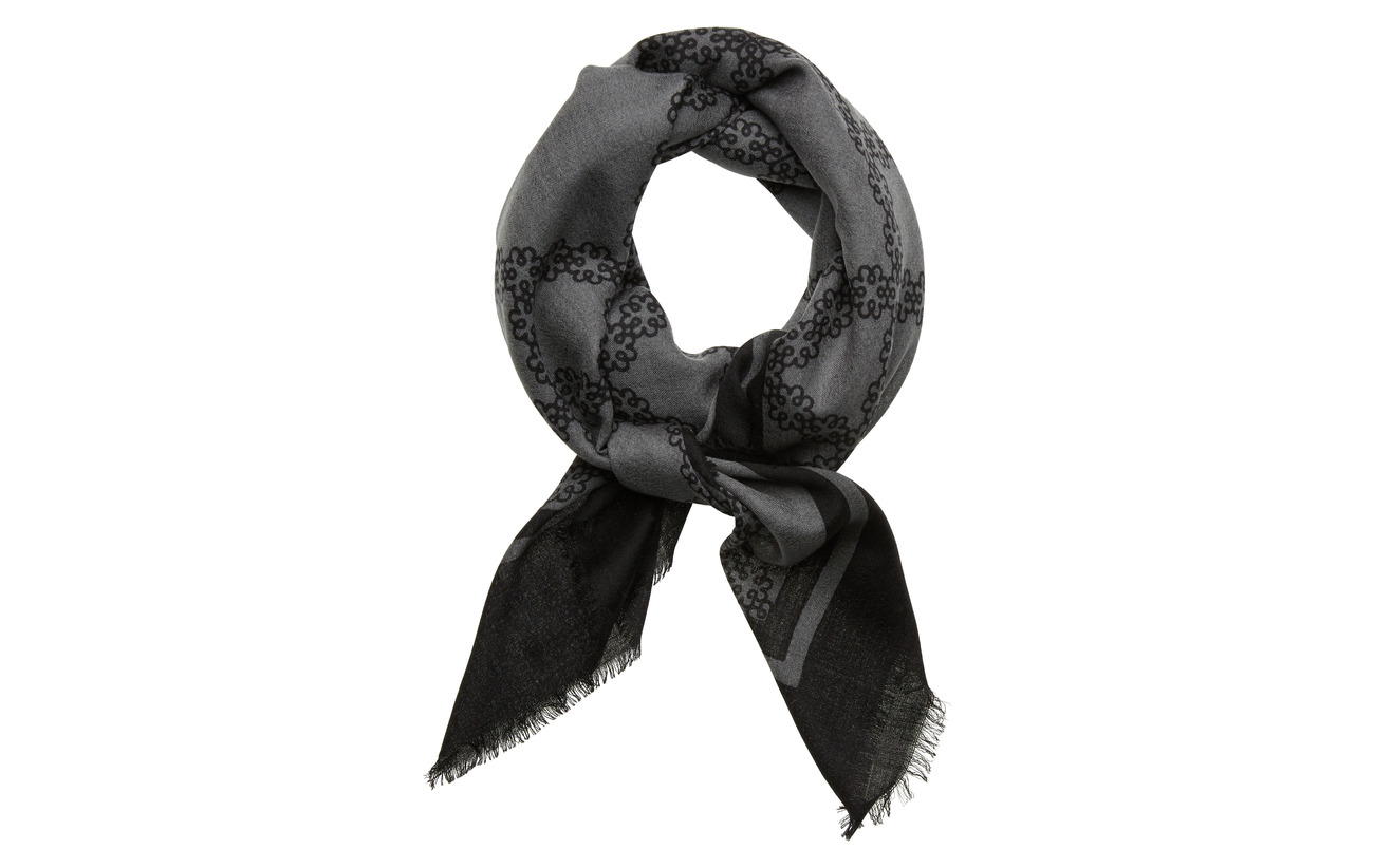 DAY et Day Deluxe Motif Scarf - BLACK