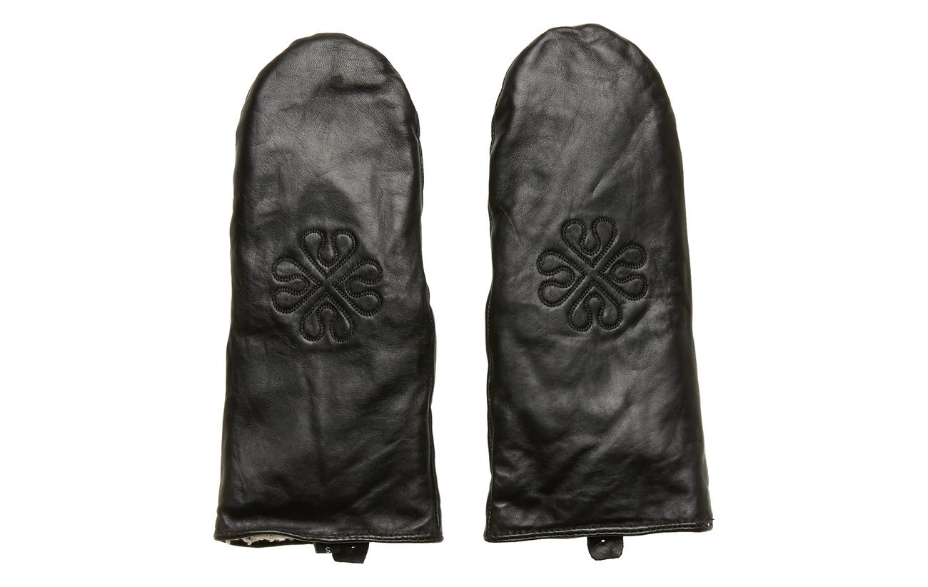 DAY et Day Glove Stamped Mitten - BLACK