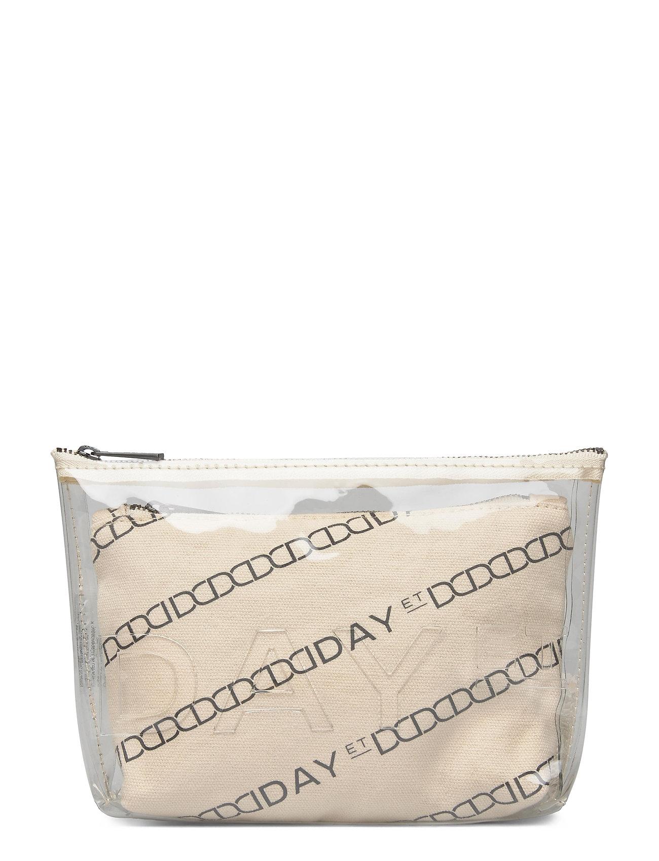 Image of Day Canvas Transparent Pouch Toilettaske Creme DAY Et (3413102545)