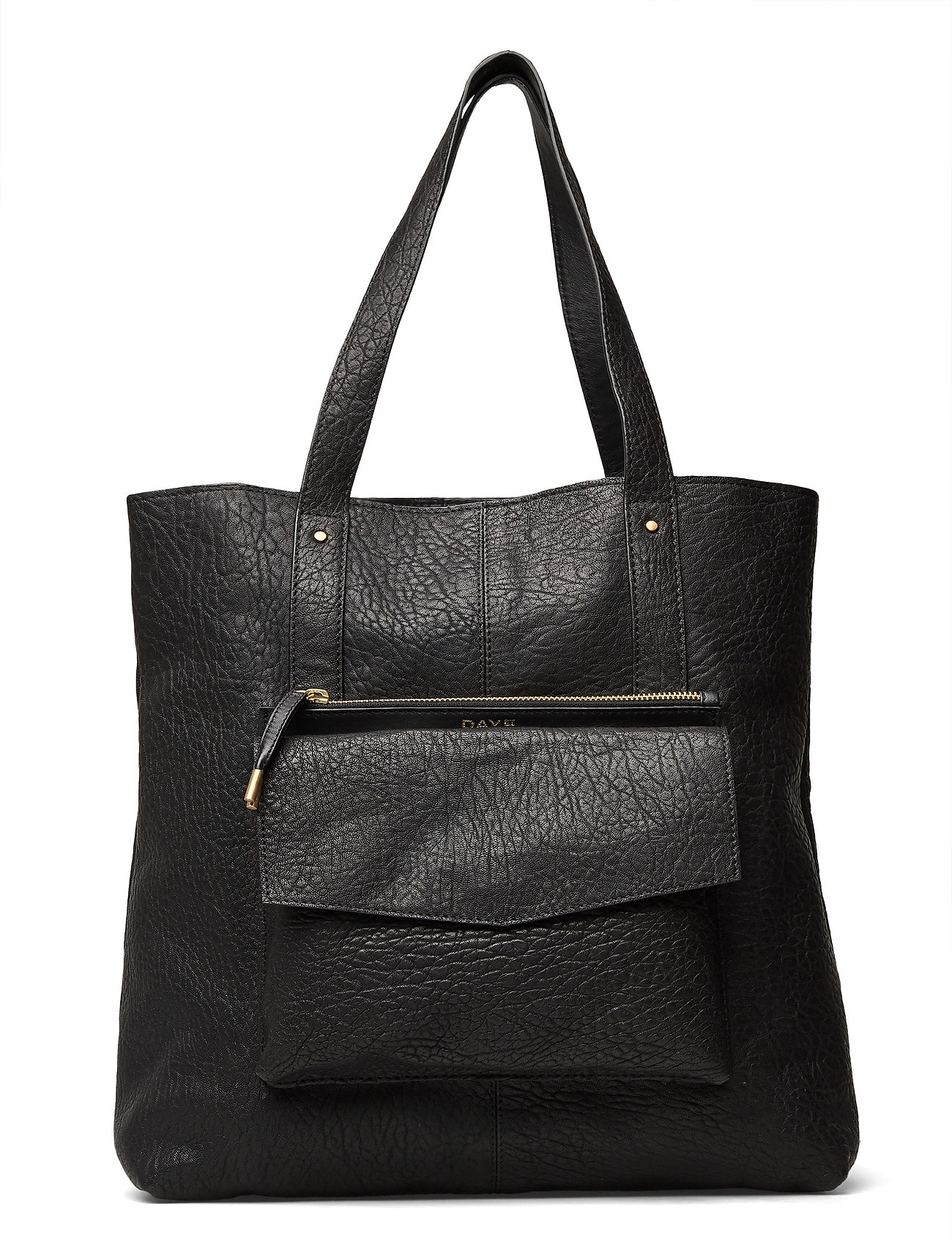 Image of Day Bubbly Leather Tote Shopper Taske Sort DAY Et (3447241237)