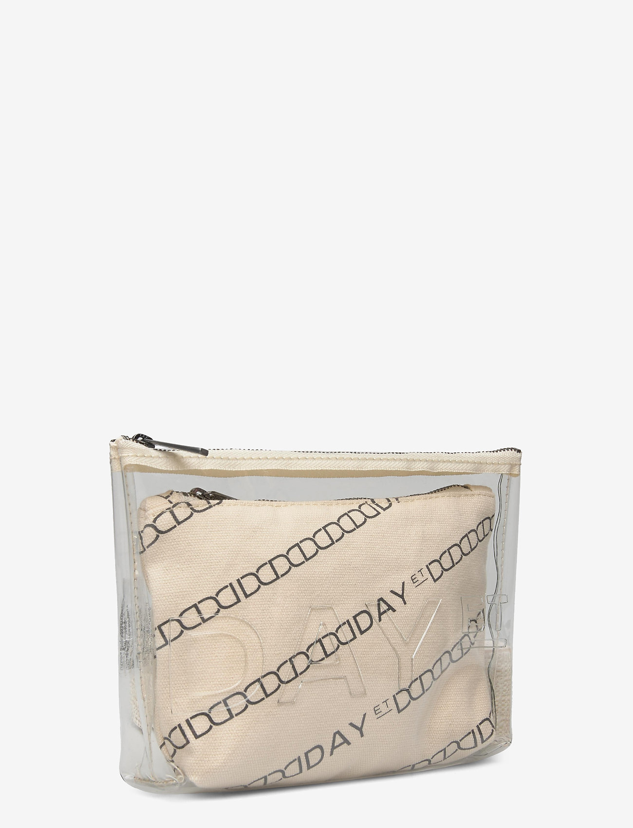 DAY et Day Canvas Transparent Pouch - Torby kosmetyczne MOONLIGHT BEIGE - Torby