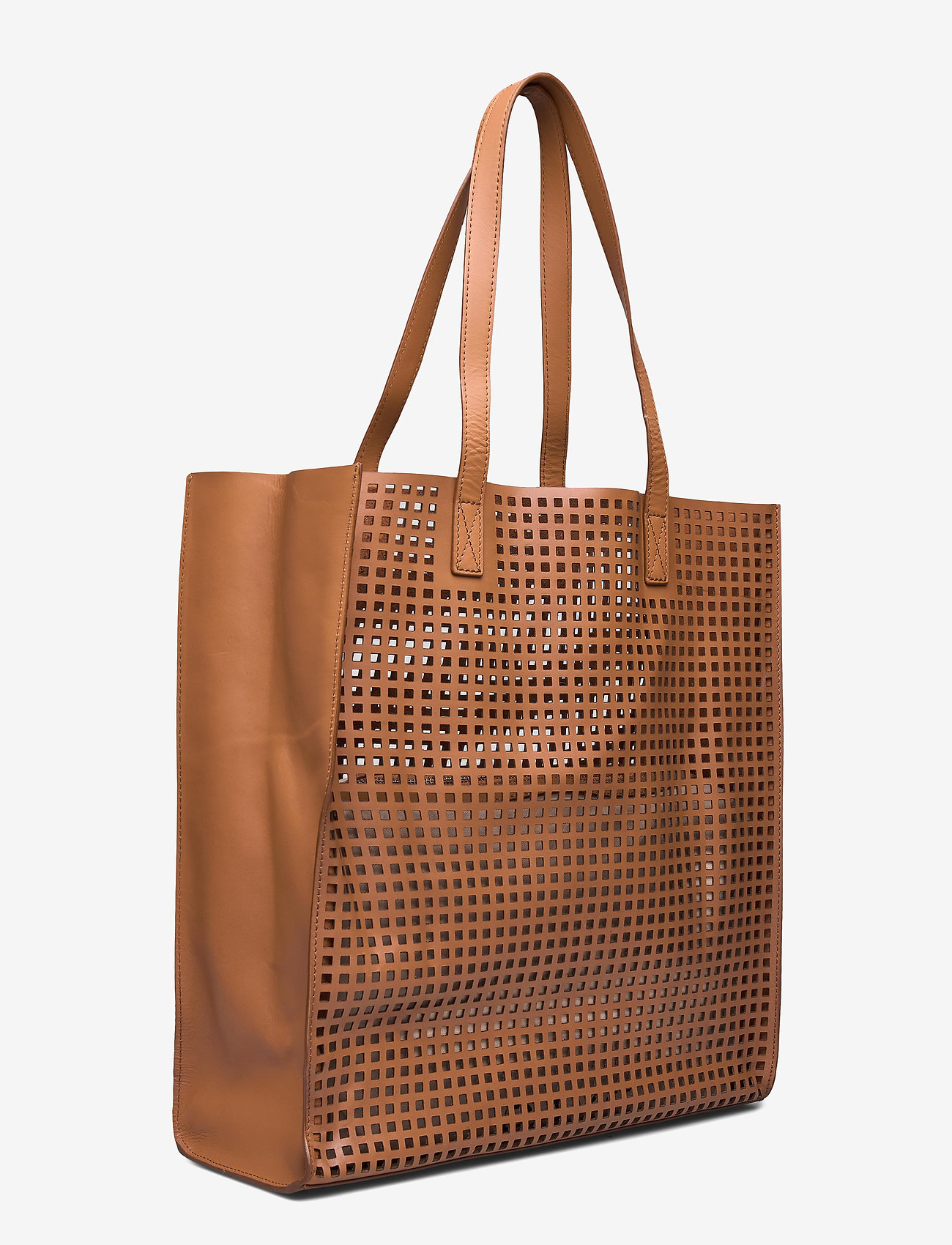 DAY et Day Cube Perforation Tote - Torby na zakupy CAMEL BEIGE - Torby