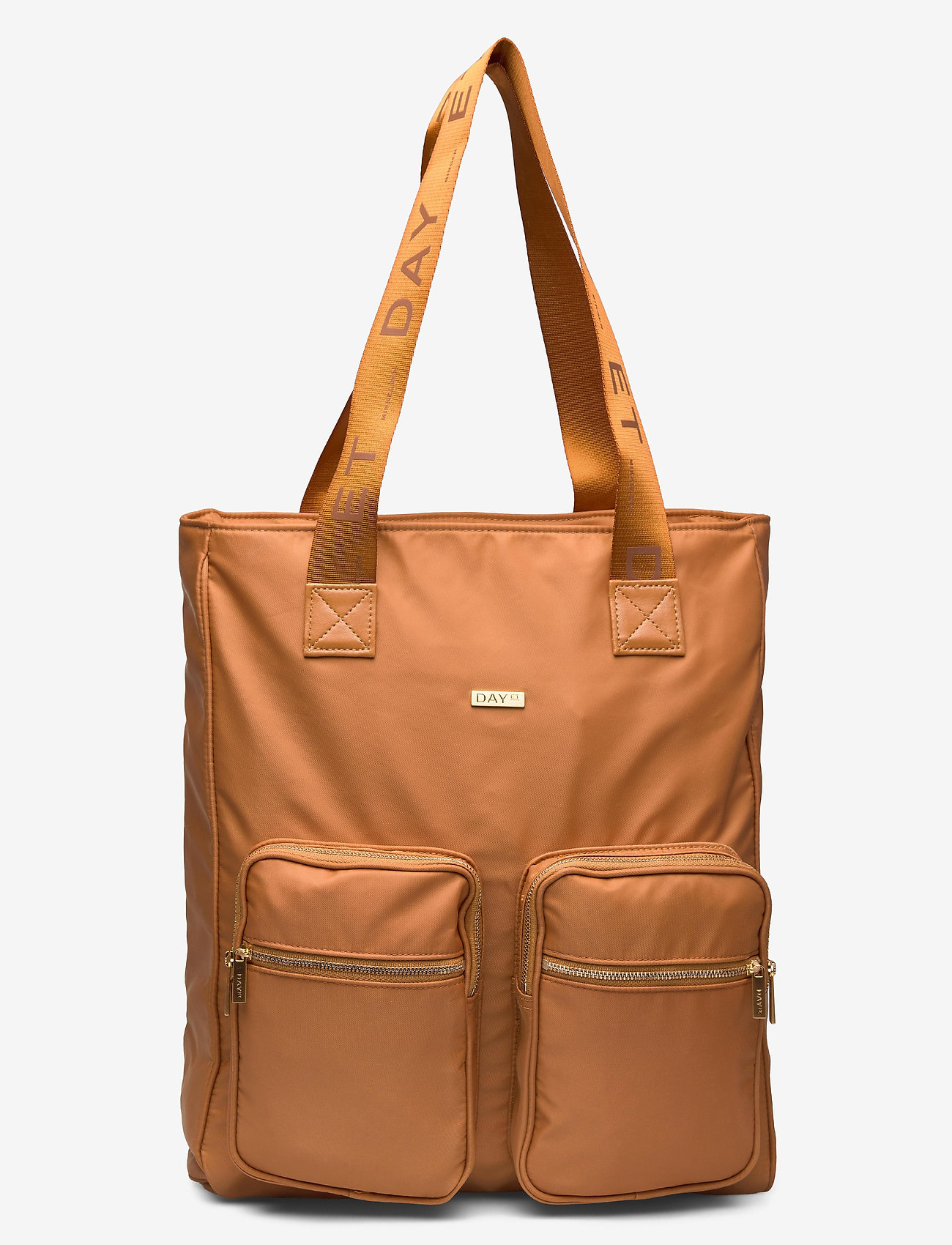DAY et - Day Logo Band Tone Tote - casual shoppers - buckthorn brown - 0