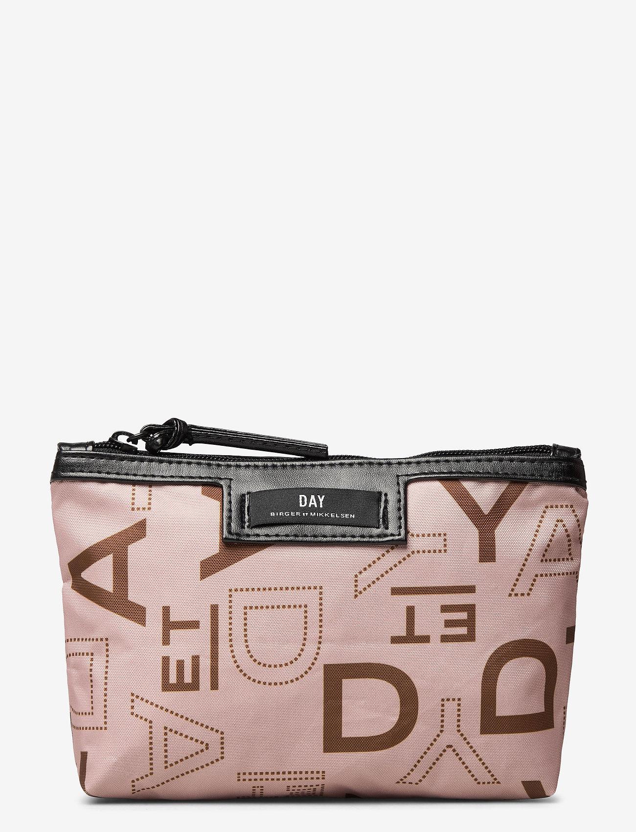 DAY et - Day Gweneth P Logo Rotate Mini - torby kosmetyczne - brush beige - 0