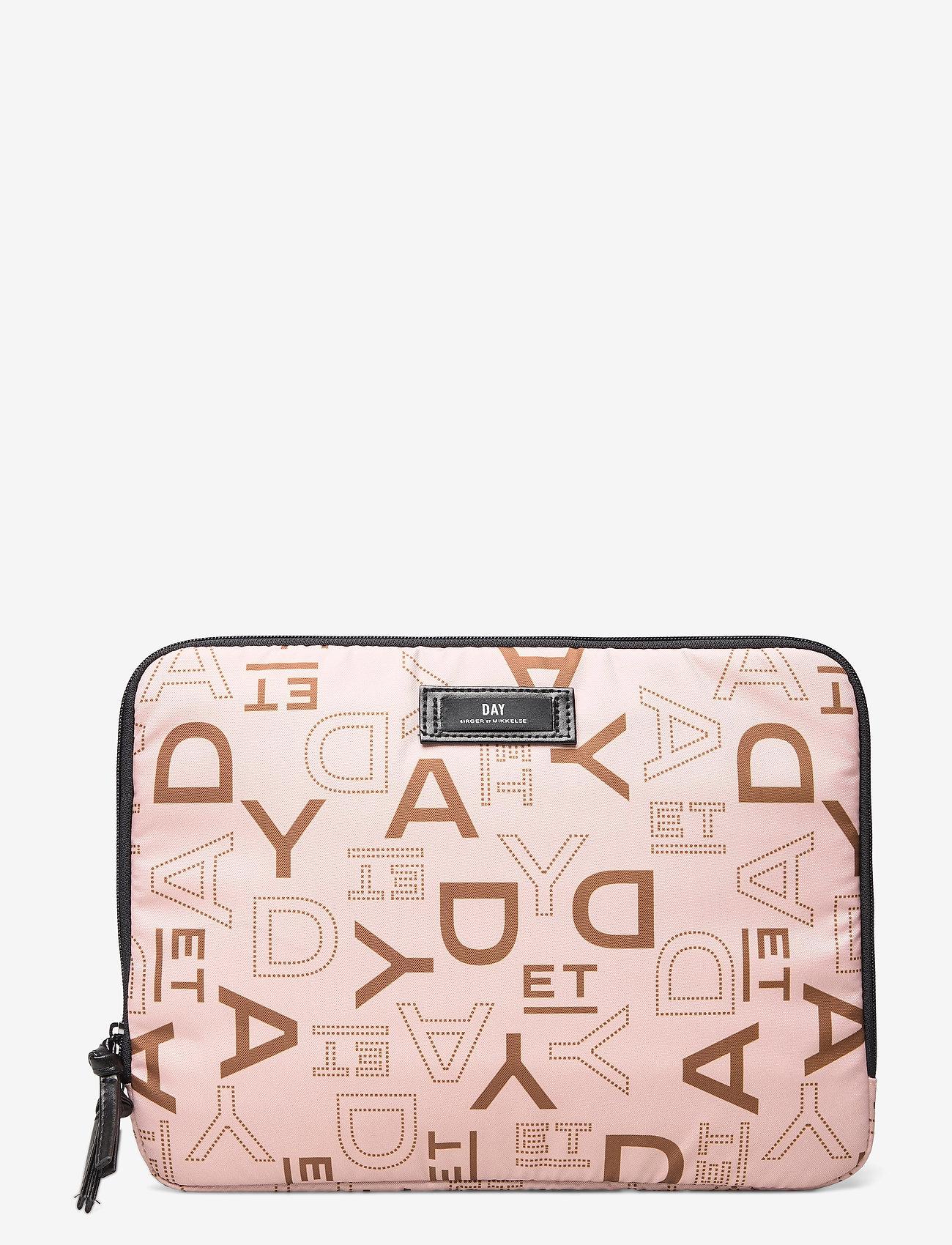 DAY et - Day Gweneth P Logo Rotate Folder13 - laptop-väskor - brush beige - 0