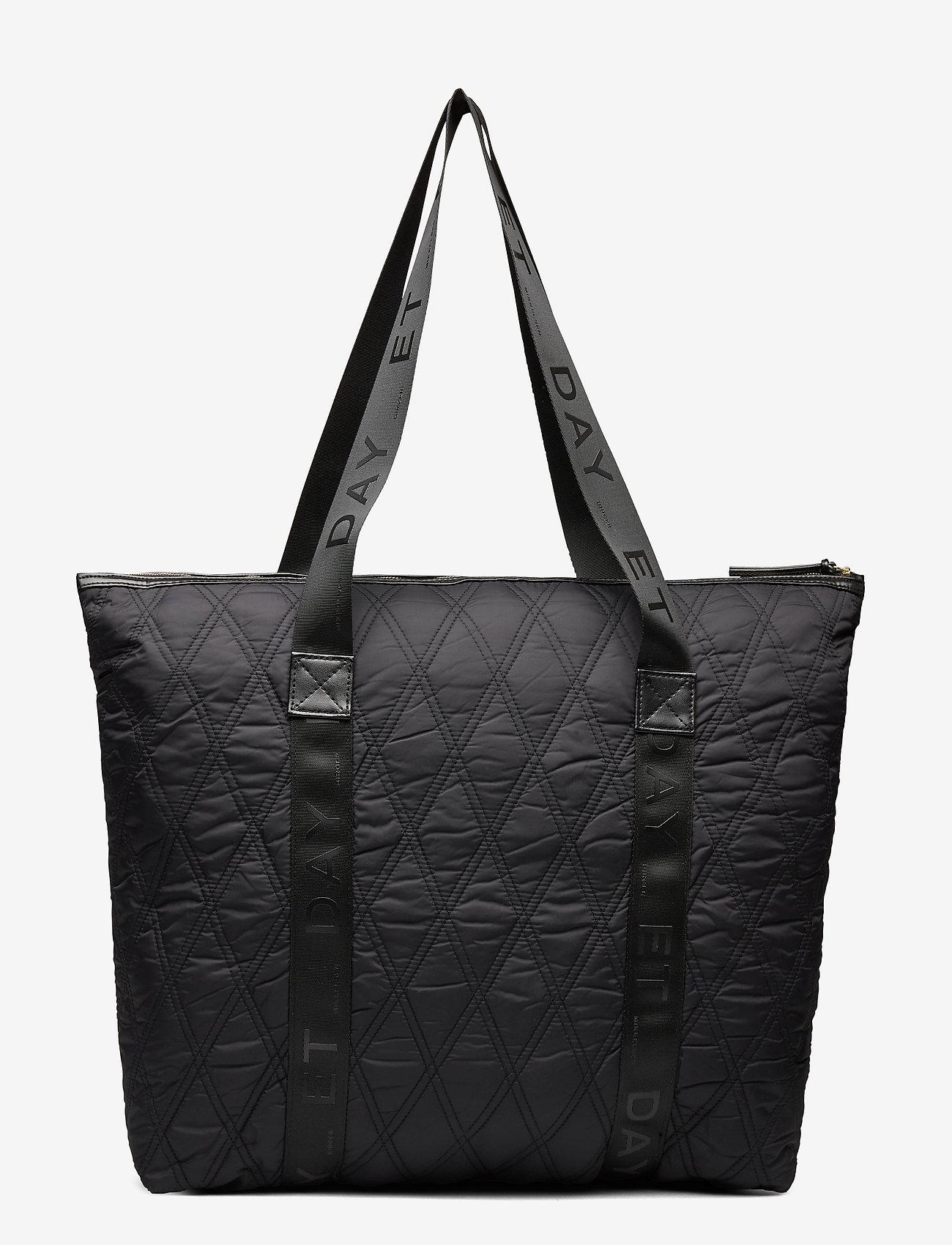 DAY et - Day GW Q Diamond Bag - casual shoppers - black - 1