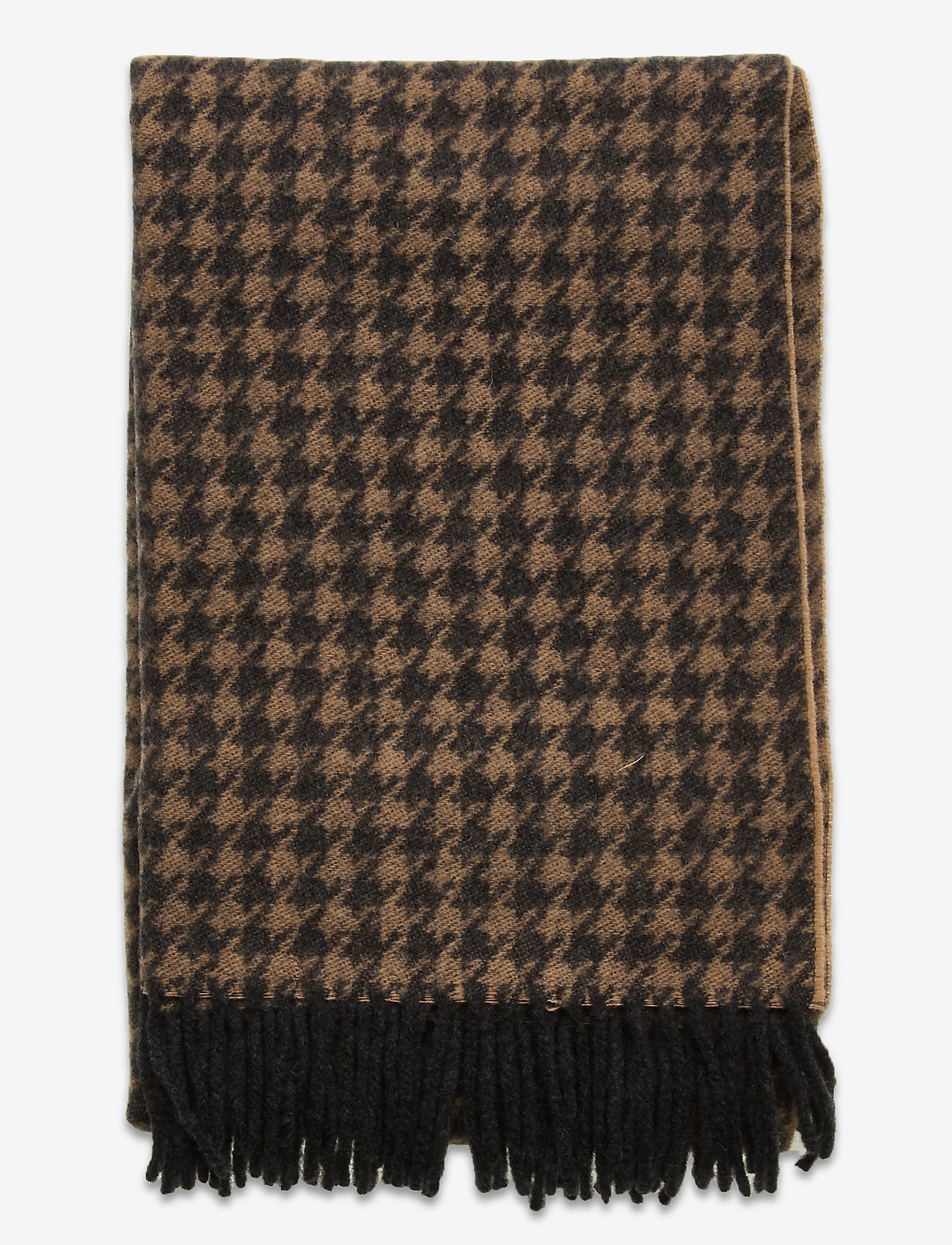 DAY et - Day Slender Check Scarf - sjaals - forged iron grey - 1