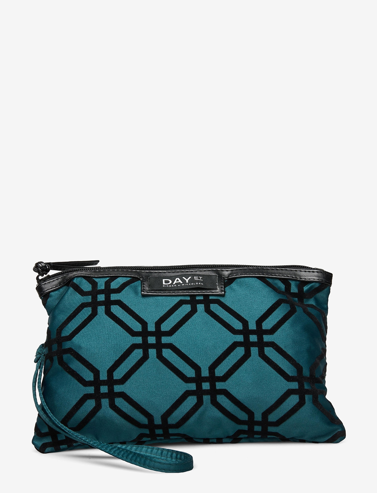 DAY et - Day Gweneth F Octagon Clutch - cosmetic bags - deep teal green - 0