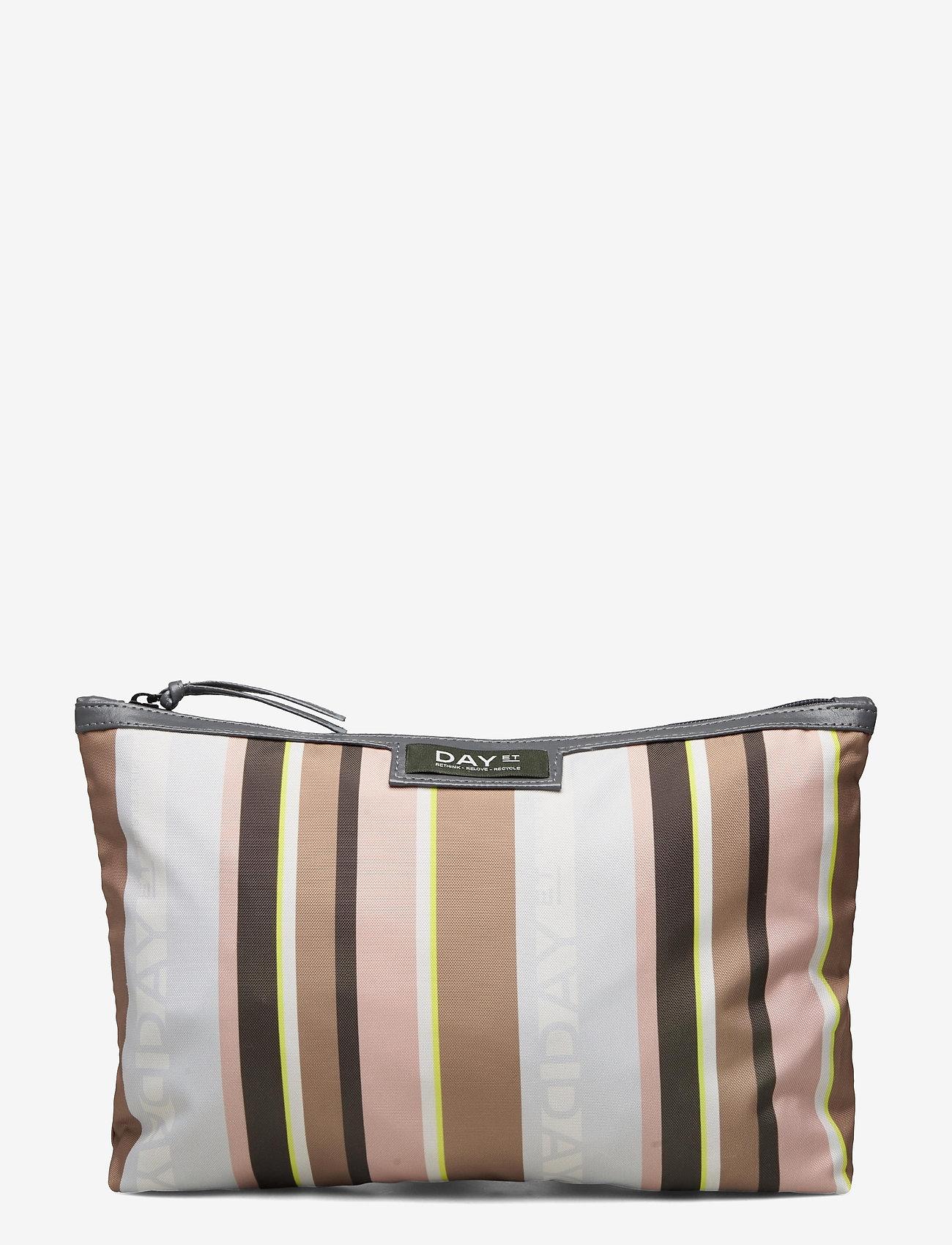 DAY et - Day Gweneth RE-P Stripe Small - väskor - tigers eye - 0