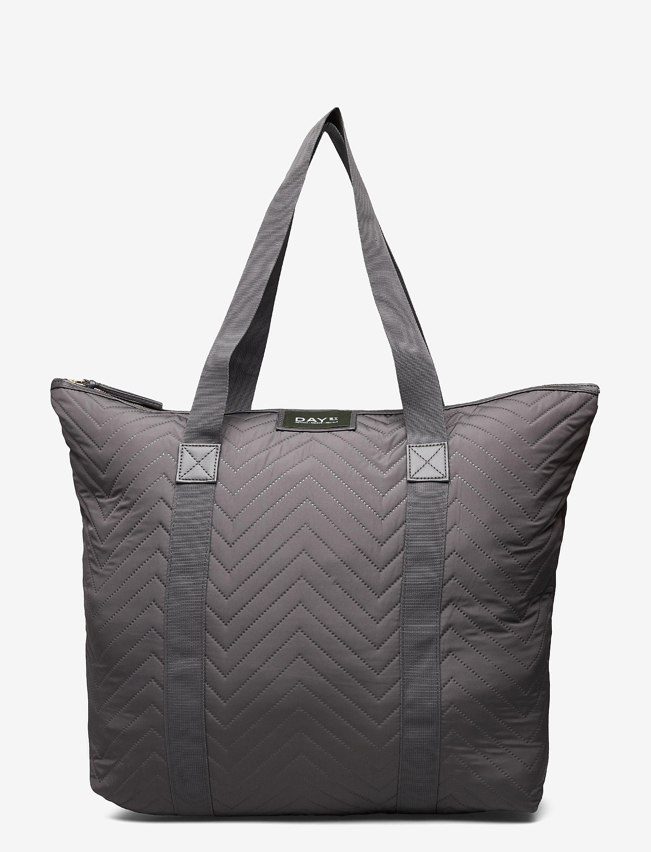 DAY et - Day Gweneth RE-X Chewron Bag - tote bags - forged iron grey - 0