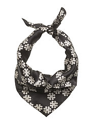 Day Silk Cruce Scarf Mini - BLACK