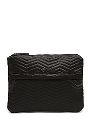 Day Q Chewron Purse - BLACK
