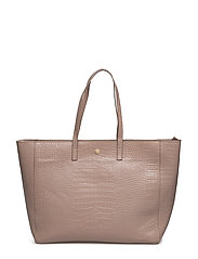 Day Must Croco Shopper - ROSE FOG