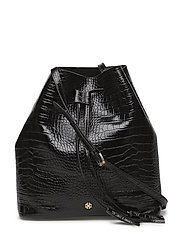Day Must Croco Bucket M - BLACK