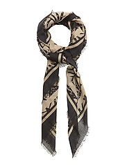 Day Deluxe Art Deco scarf - BLACK
