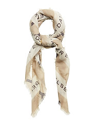 Day Deluxe Wild Logo scarf Big - TRAVERTINE