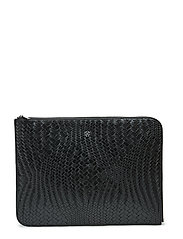 Day Plaiting Folder - BLACK