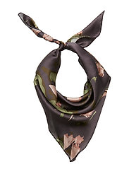 Day Silk Cactus Scarf Mini - SOLDIER