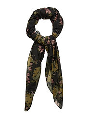 Day Silky Cactus Scarf B - SOLDIER