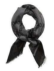 Day Deluxe Motif Scarf - BLACK