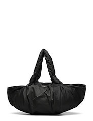 Day Drapy Large Pouchy Bag - BLACK