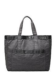 Day Denim Logo Shopper - OMPHALODES BLUE