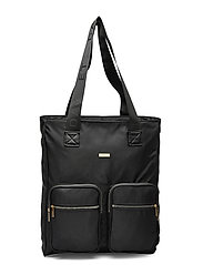 Day Logo Band Tone Tote - BLACK