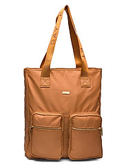 Day Logo Band Tone Tote - BUCKTHORN BROWN