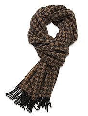 Day Slender Check Scarf - FORGED IRON GREY