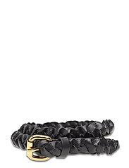 Day Narrow Braided Belt - BLACK