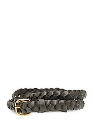 Day Narrow Braided Belt - MILITARY OLIVE