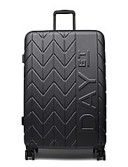 "Day NBO 28"" Suitcase Chewron - FORGED IRON GREY"