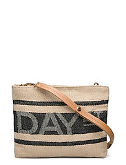 Day J Jute Cross Body - CEMENT