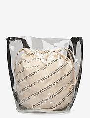 DAY et - Day Canvas Transparent Bucket - bucket bags - moonlight beige - 1