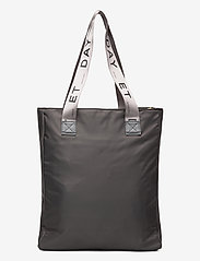 DAY et - Day Logo Band Tone Tote - casual shoppers - pavement - 1