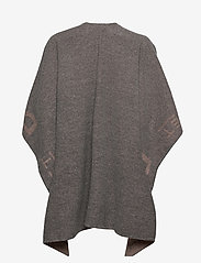 DAY et - Day ET Logo Poncho - ponchos en capes - forged iron grey - 1