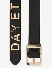 DAY et - Day Golden Logo Leather Belt - riemen - black - 1