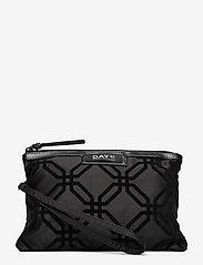 DAY et - Day Gweneth F Octagon Clutch - cosmetic bags - black - 0