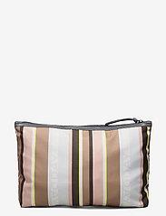 DAY et - Day Gweneth RE-P Stripe Small - väskor - tigers eye - 1